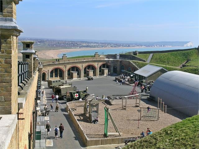 Newhaven Fort Parade ground